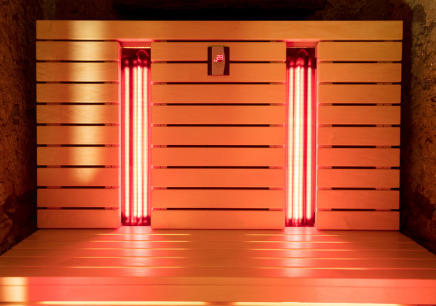 The infrared sauna has many health benefits